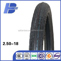 Good quality street tyre/ 2.50-18 motorcycle tyre / china tire