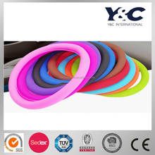silicone car steering wheel cover
