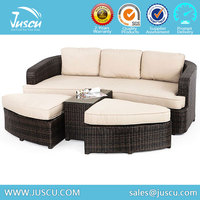 New Design Wicker Outdoor Sleeper Sofa With Low price