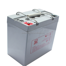 AGM lead 12volt sealed acid battery for solar UPS/EPS 12V 50AH