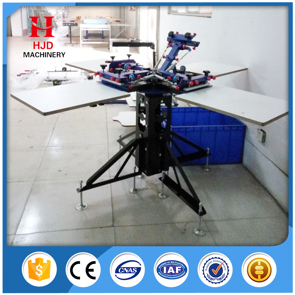 Good Supplier Silk 4 Color Screen Printing Machine