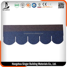 Prefab house asphalt shingle - roof tile asphalt shingles - fish scale asphalt shingle manufacturers