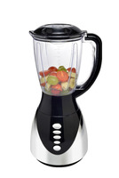 hot sale 1.5L PC blender with UV chrome base and CB certificate