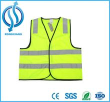 High visibility construction vest logo printing security vest reflective safety vest with pockets for outer wear