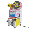 high quality automatic plastic cup sealing machine for bubble tea cup