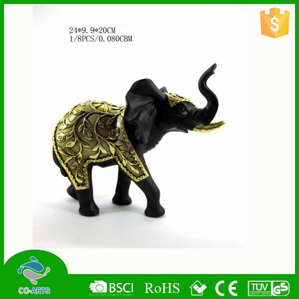 Wholesale different size beautiful resin animal figurines