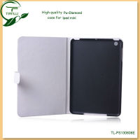 Foldind design PU leather case for iPad mini with Multi-angle Stand,new arrival cases and covers for ipad mini