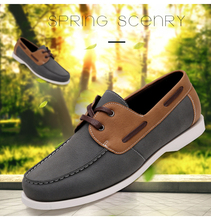 Low moq cheap men casual shoes 2017
