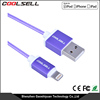 Reliable Braided MFi usb cable MFi Certified Charging and Syncing usb data cable for iPhone 6s
