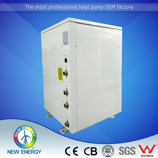 7.4kw-54kw geothermal ground source water to water heat pump