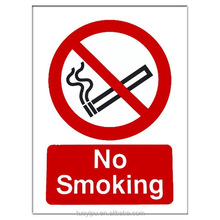 High Quality Custom No Smoking Safety Sign Board
