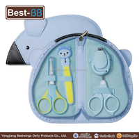 professional manicure pedicure set with 4 attachments for baby nail/ kids professional manicure kit