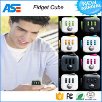 China supplier high quality 6-Sided Desk Toy Fidget Cube