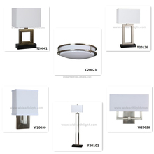 UL CUL Listed Hot Sales Brushed Nickel Modern Light Hotel Bedroom Ceiling Light Fixtures H90038