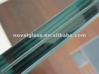 tempered tinted laminated glass door