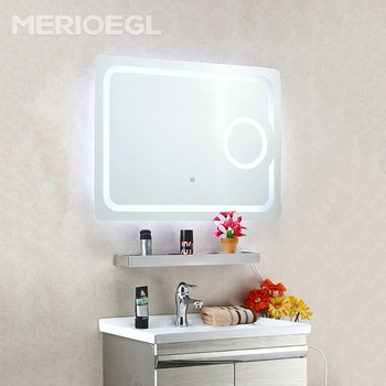 Cheap mirror beauty mirror, fancy bathroom mirrors, hotel bath mirror with led light