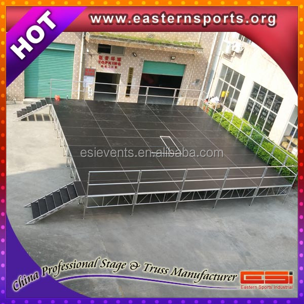 ESI cheap outdoor concert stage sale,wedding stage decoration,used stage curtains for sale