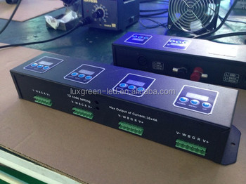 Latest 16ch dmx 512 decoder with 3 years warranty