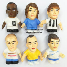 Plastic Football Player Figurine Toys