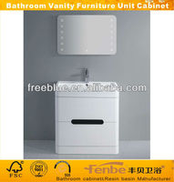 floor standing bathroom unit