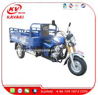 Cheap Adult 3 Three Wheel Tricycle 150cc/200cc air-cooled engine cargo delivery motorcycles for sale