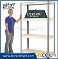 400mm width 4 layers boltless warehouse shelving