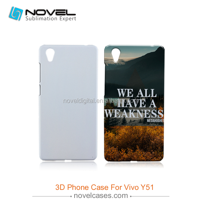 Hot Sale 3D Sublimation Phone Case Cover for VIVO Y51, DIY Phone Case Cover