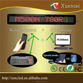 HOT! KBM500N-780RG(P7.62-7x80RGY) 65.2x9.7x3.4cm led wireless keyboard Support Indoor and outdoor Single /tricolor led Sign
