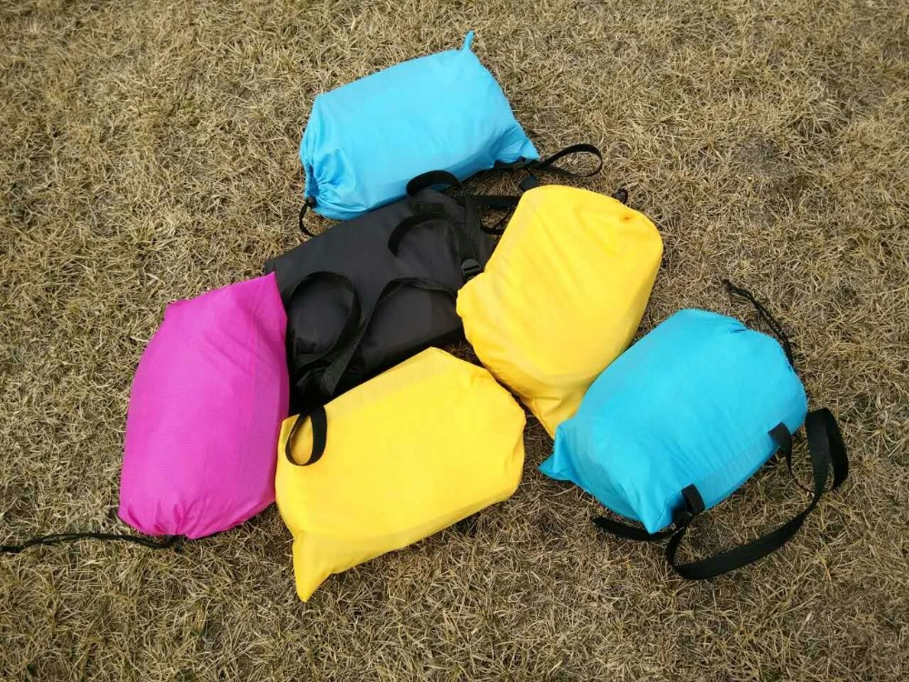 fast inflatable sleeping bag