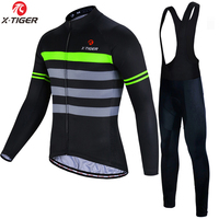 X-TIGER Mans Breathable Cycling Jersey Set Summer MTB Bicycle Clothing Maillot Roupas Ciclismo Bike Clothes Sports Wear