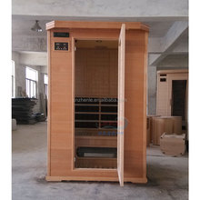 Far infrared Nano carbon single / double Tourmaline Energy Room household sauna and steam combined room wet dry steam room sauna