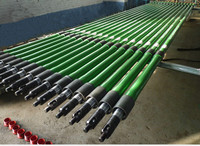 Carbon Steel Carburizing Wall Barrel Oil Pump,Stainless Steel Valve Seat& Ball Rod,8m length Plunger Pump