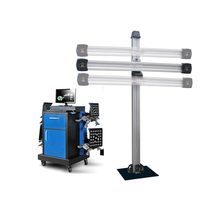Cheap 3d wheel alignment machine equipment with cabinet