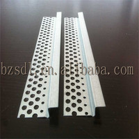 P50/60 shadowline stopping angle &plaster stopping z angle galvanized iron