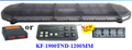 Hot selling Cheap LED Warnig Light Bar, (KF-1900TND,120CM),88pcs New TIR Diamond LED,Super bright