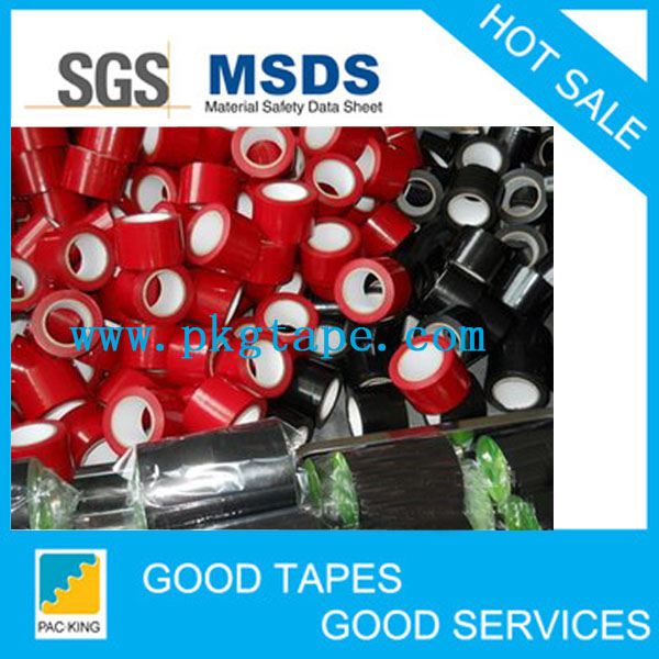 High Quality Rubber PVC pipe protective tape,best film
