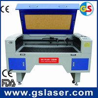 100w Acrylic, Crytal, Glass, Leather, MDF, Metal, Paper, plastic laser engraving cutting machine