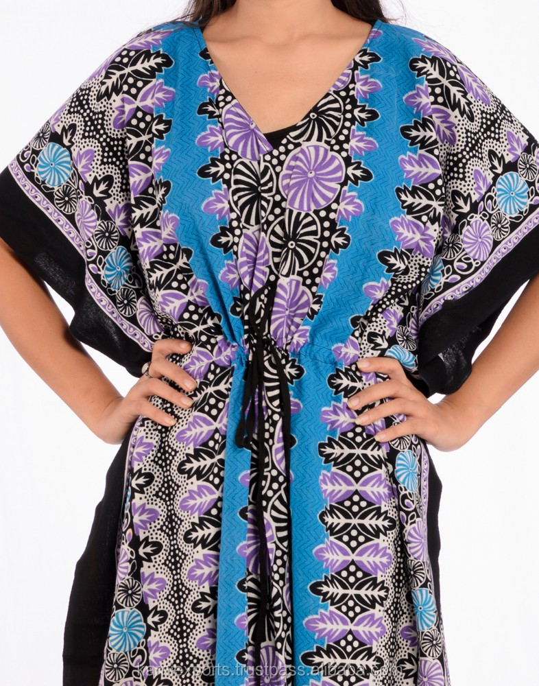 Dark blue Dubai long kaftan / women maternity gowns /Middle East Ethnic Region kaftan