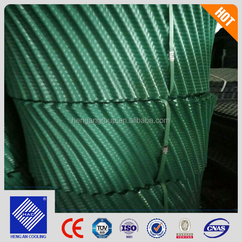 Block Type S Wave PVC PE Cooling Tower Fill block Type Cooling Tower Infill