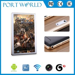 9.6 inch cell phone mobile Android 5.1 System 1280x800 IPS phones mobile