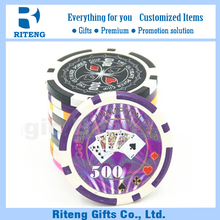 Professional Custom Design Standard Poker Chip Size For Wholesale