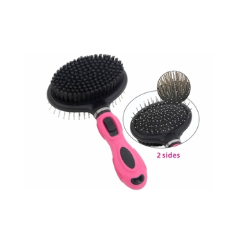 Wholesale stainless steel pet hair grooming brush