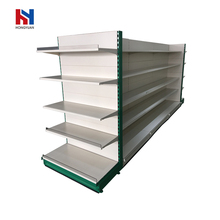 Easy to use gondola retail display shelf supermarket shelves racks