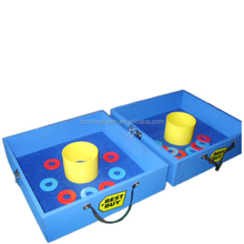 2015 deluxe bean bag and washer toss game with iron washers