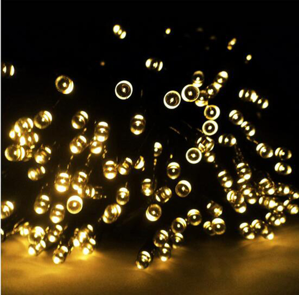 Wholesale Outdoor Bright Decorative String Lights Solar outdoor