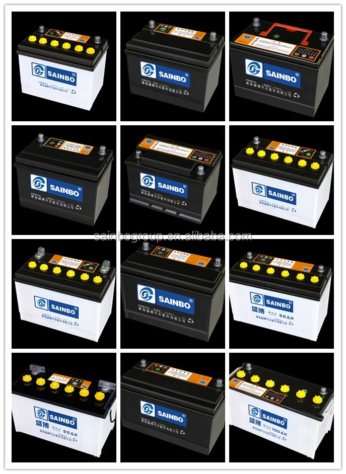 Hot sale car battery wholesale with various standard 12v45AH 17081204
