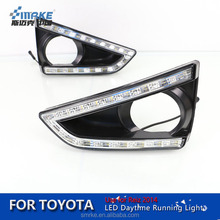 Smrke Manufacturer LED DRL Lamp for Toyota Reiz drl 2014 Reiz led Daytime Running Light Fog Light Accessories