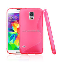 Soft flexible shockproof tpu case for Samsung galaxy S5