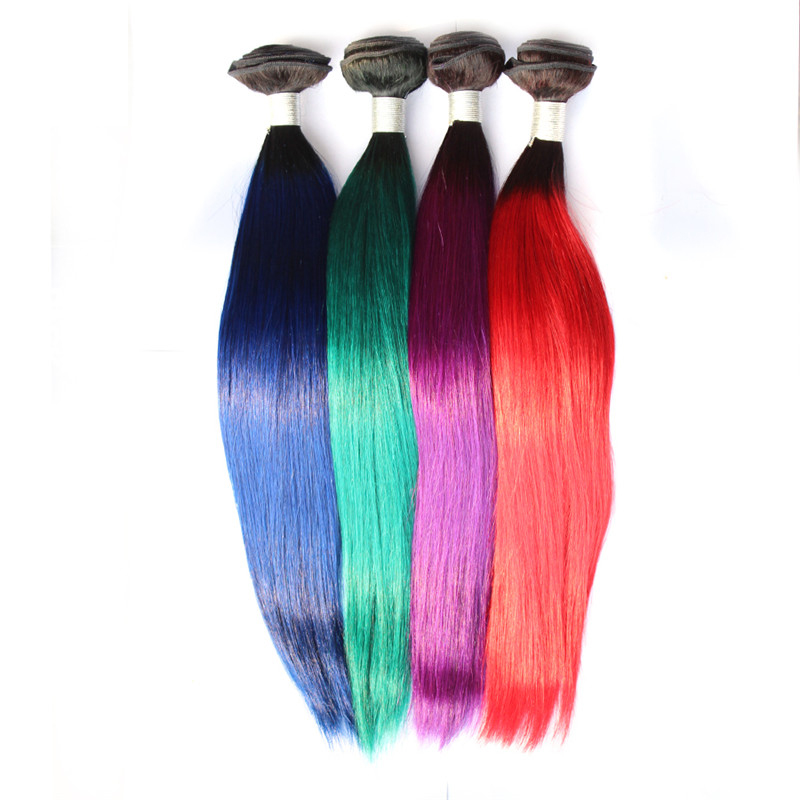 Wholesale Green Color Hair Extension Online Buy Best Green Color
