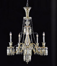 Modern gold French cplastic colored chandeliers